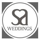 We do weddings badge